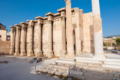 Roman Agora remains in Athens.Greece. Royalty Free Stock Photography