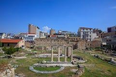 Roman Agora van Athene, Griekenland Stock Foto