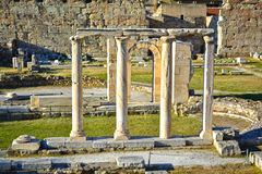Roman Agora Royalty Free Stock Photos