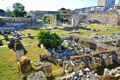 Roman Agora Stock Images