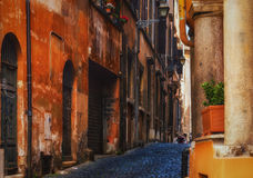 Roman Alleyway royalty free stock images
