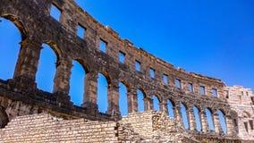 Roman amfitheater Royalty-vrije Stock Foto