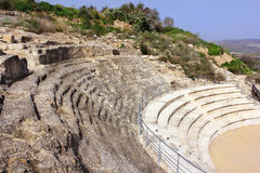Roman amfitheater, nationaal park Zippori, Galilee, Israël Royalty-vrije Stock Afbeelding