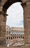 Roman amphitheate. Pula, Croatia Royalty Free Stock Photography