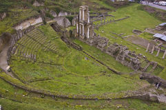 Roman Amphitheater Royalty Free Stock Photography