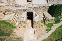 Roman amphitheater. Royalty Free Stock Photo