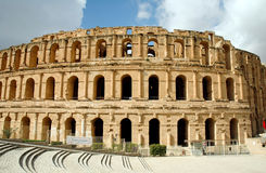 Roman amphitheater Royalty Free Stock Photos