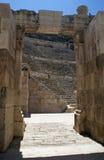 Roman amphitheater amman Stock Images