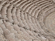 Roman amphitheater in Amman Royalty Free Stock Images