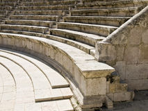 Roman amphitheater in Amman, J Royalty Free Stock Photography