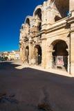 Roman Amphitheater Arles Bullfight Stock Photo