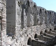 Roman amphitheater, Arles, France. Royalty Free Stock Image