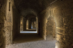 Roman Amphitheater - Arles - South of France Stock Photos