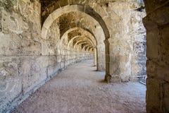 Aspendos Amphitheatre Antalya Royalty Free Stock Images