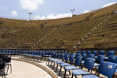 Roman amphitheater Caesarea Stock Photography