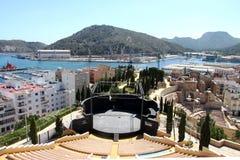Roman amphitheater in Cartagena, Region Murcia, Spain Royalty Free Stock Image