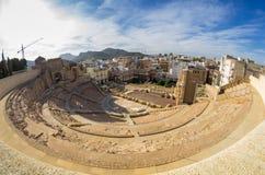 Roman amphitheater in Cartagena Stock Image