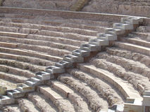 Roman amphitheater in Cartagena Royalty Free Stock Image
