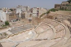 Roman amphitheater in Cartagena Spain Stock Photo