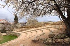 Roman amphitheater in Chersonesus Stock Photography