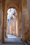 The Roman amphitheater in El-Jem Stock Photography