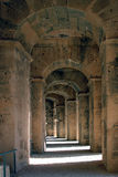 The Roman amphitheater in El-Jem Stock Images