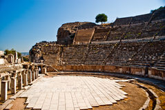 Roman amphitheater in Ephesus Royalty Free Stock Photo