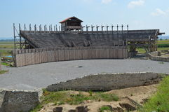 Roman amphitheater Stock Image