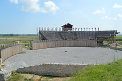 Roman amphitheater Royalty Free Stock Photos