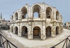 Roman amphitheater, France Royalty Free Stock Photo
