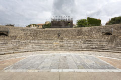 Roman amphitheater, France Stock Photography