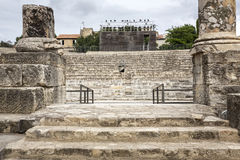 Roman amphitheater, France Royalty Free Stock Photography