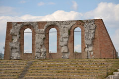 Roman amphitheater Royalty Free Stock Photo