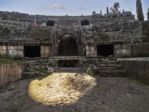 Roman amphitheater interior Stock Photography