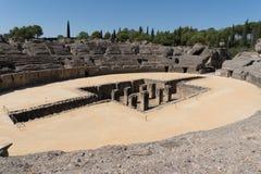 Roman Amphitheater, Italica Spain Foto de archivo libre de regalías