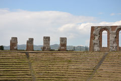 Roman amphitheater - Italy Royalty Free Stock Images