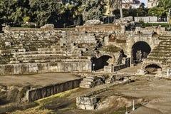 Roman amphitheater in Merida Royalty Free Stock Image