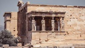 Roman Amphitheater na acrópole imagem de stock royalty free