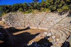 Roman amphitheater in Perges, Turkey Stock Photo