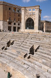 Roman amphitheater Stock Photo