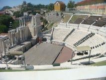 Roman Amphitheater a Plovdiv em Bulgária Imagem de Stock Royalty Free