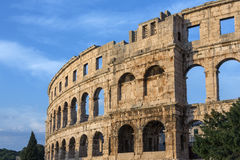 Roman Amphitheater - Pula - Croatia Stock Images