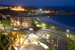 Roman amphitheater at Tarragona  in night Stock Photos