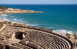Roman amphitheater of Tarragona.Spain Stock Image