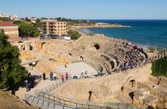 Roman amphitheater Stock Photos