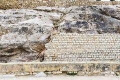 Roman amphitheater in Tarragona, Spain Royalty Free Stock Image