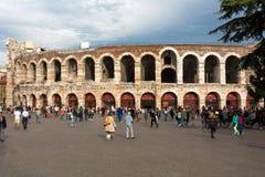 Roman amphitheater  in Verona, Italy. Stock Images