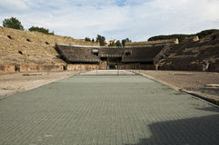 Roman amphitheatre Stock Photo