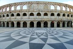 Roman Amphitheatre Stock Foto