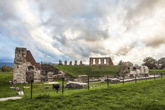 Roman Amphitheatre Immagini Stock Libere da Diritti